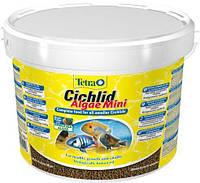 Корм Tetra Cichlid Algae Mini для небольших цихлид в гранулах, 10 л