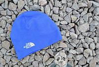 Шапка мужская/женская голубая The North Face