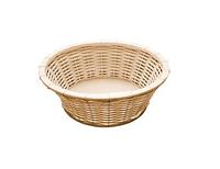 Корзинка для хлеба или фруктов круглая, D20см бежевая APS 40213