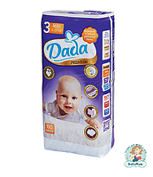 Подгузники Dada Premium Midi 3 (4-9 кг) - 60 шт.