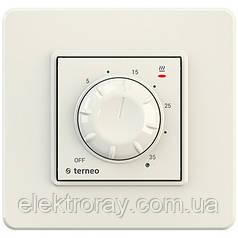 Терморегулятор для теплого пола terneo rtp слоновая кость