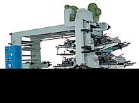 Стекерная широкорулонная флексографическая печатная машина