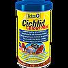Корм Tetra Cichlid Colour Mini для молодых цихлид в гранулах, улучшение окраса, 500 мл