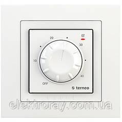 Терморегулятор для теплого пола terneo rtp unic белый