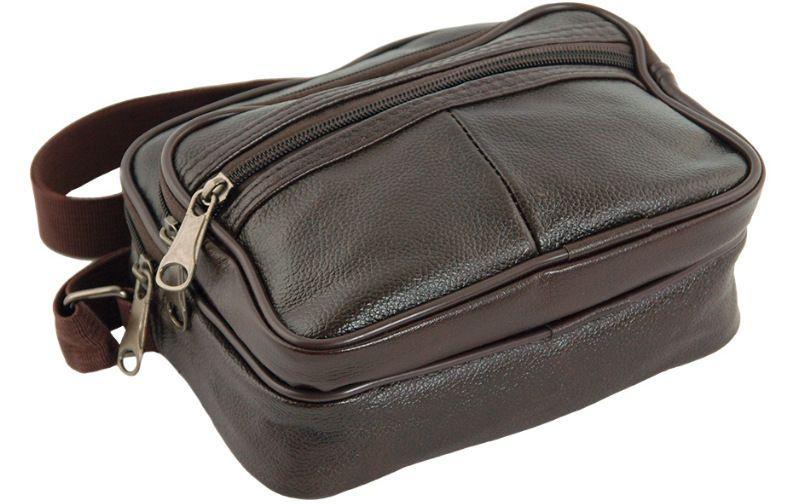 502653c0a79c Мужская небольшая кожаная сумка Traum 7172-45, коричневый, цена 389 грн.,  купить в Киеве — Prom.ua (ID#590061799)