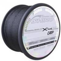 Шнур MISTRALL Shiro BL Black Carp 300m 0.25mm