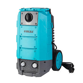 Мойка 1800Вт max 140bar 7 л/мин + турбонасадка Sigma (5342081), фото 2