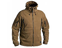 Флисовая куртка с капюшоном Helikon-Tex PATRIOT Coyote BL-PAT-HF-11, фото 1