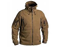 Флисовая куртка с капюшоном Helikon-Tex PATRIOT Coyote BL-PAT-HF-11