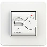 Терморегулятор для теплого пола terneo mex белый