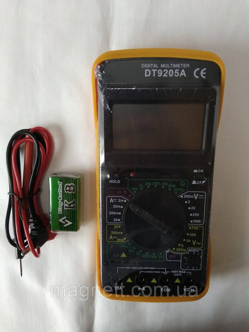 Мультиметр Digital DT9205A