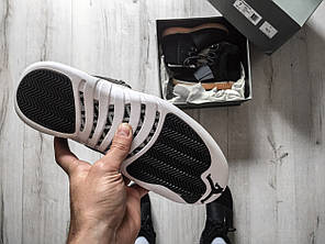 Кроссовки Nike Air Jordan 12 Retro Black Nylon.  продажа ea67d2cf89bf1
