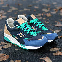 "Мужские кроссовки New Balance x Social Status CM1600 ""Winter in the Hamptons"", Нью беланс 1600, фото 3"