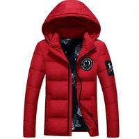 Мужская зимняя куртка с капюшоном. Модель 61575
