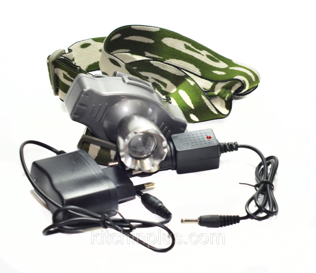 Налобный фонарь Bailong Police BL-HZ-008 6000W