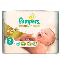 Pampers Premium Care Mini 2 (3-6 кг) Подгузники детские 32 шт
