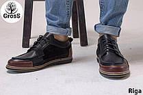 Турецкие мужские мокасины Gross 40 размер мужские туфли
