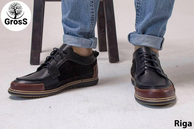 Турецкие мужские мокасины Gross 40 размер мужские туфли.