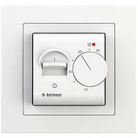 Терморегулятор для теплого пола terneo mex unic белый