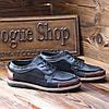 Турецкие мужские мокасины Gross 40 размер мужские туфли., фото 4