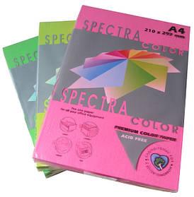 "Цветная бумага ""Spectra color"" А4, 160 г/м2, 250 листов"