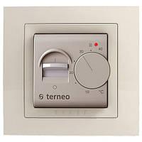Терморегулятор для теплого пола terneo mex unic слоновая кость