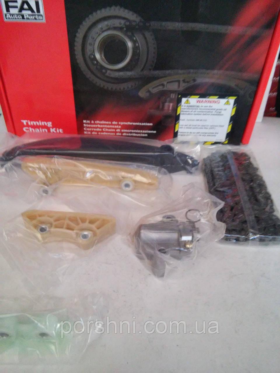 Цепь  двигателя + успокоитель + натяжитель Ford Тransit 2.4 DI  V347  2006 >  FAI   TCK138WO