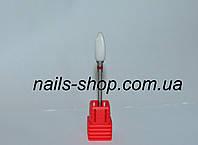 Керамическая фреза для снятия гель-лака (красная)