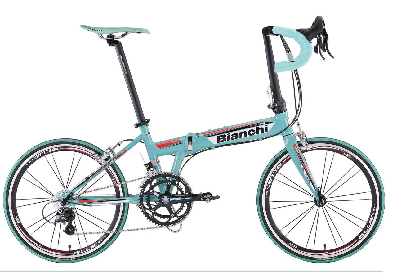 Велосипед городской складной  Bianchi Spazio