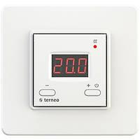 Терморегулятор для теплого пола terneo st белый