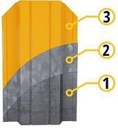 Штакет ПРЕМИУМ прокатывается из оцинкованного металла производства Словакия (содержание цинка 140г/кв.м) 0,5мм