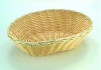 Корзинка для хлеба овальная 18х12см, Н7см, бежевая APS 30279