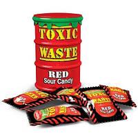 Конфеты Toxic Waste (Фруктово-ягодный микс, Красная банка, 48 гр., 16 шт)