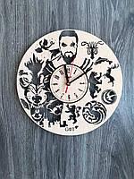 Часы из дерева на стену «Игра престолов», фото 1