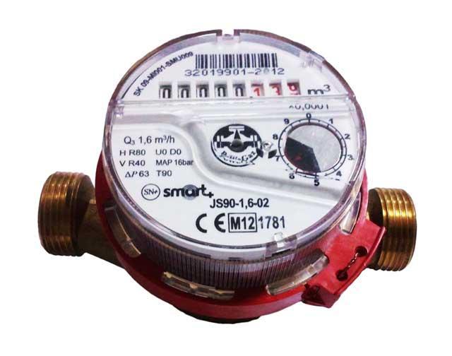 Счетчик Apator Powogaz JS-90-1.0 Smart для горячей воды