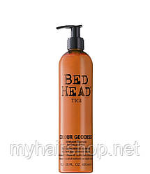 Шампунь для окрашенных волос с кератином TIGI Colour Goddess 400 мл
