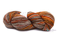 Kauni Artistic 8/2, Серо-оранжевый/Grey-Orange