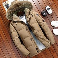 Теплая мужская зимняя куртка. Модель 61576-н