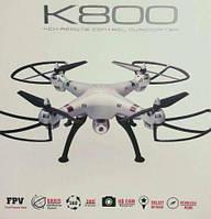 Квадрокоптер K800 с WiFi HD камерой. Дрон, вертолет
