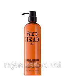 Шампунь для окрашенных волос с кератином TIGI Colour Goddess 750 мл