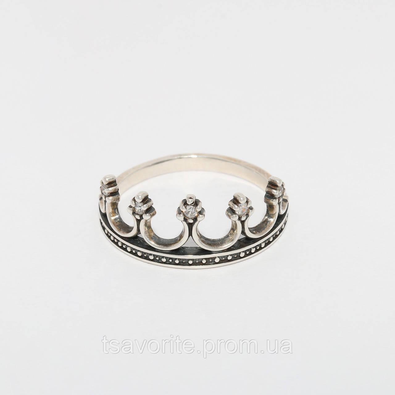 Серебряное кольцо 124КЮ