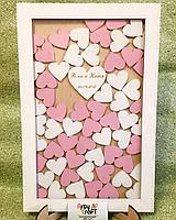 Рамка для пожеланий с сердечками (с гравировкой и покраской), фото 5