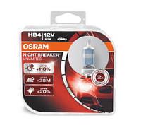 Лампы накаливания Osram 9006/HB4 Night Breaker Unlimited +110%