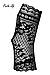 Ажурные перчатки Obsesive picantina mittens, фото 2