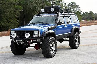 Расширители арок фендеры Jeep Cherokee XJ