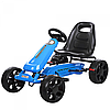 Детский педальный карт  веломобиль M 3590 E-4, мягкие EVA колеса
