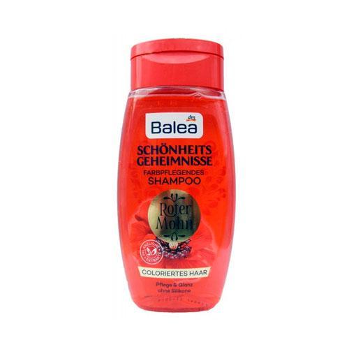 Balea «Секреты красоты красный мак» Шампунь для окрашенных волос 250 мл