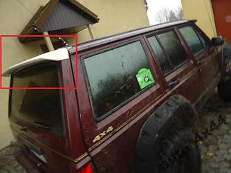 Спойлер козырек крышки багажника Jeep Cherokee XJ