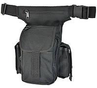 Сумка набедренная MilTec MULTI PACK 1000D Black 13526002