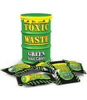 Конфеты Toxic Waste (Фрукты, Зеленая банка, 48 гр., 16 шт)